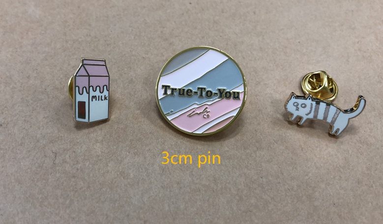 unilapel pin 3cm lapel pins
