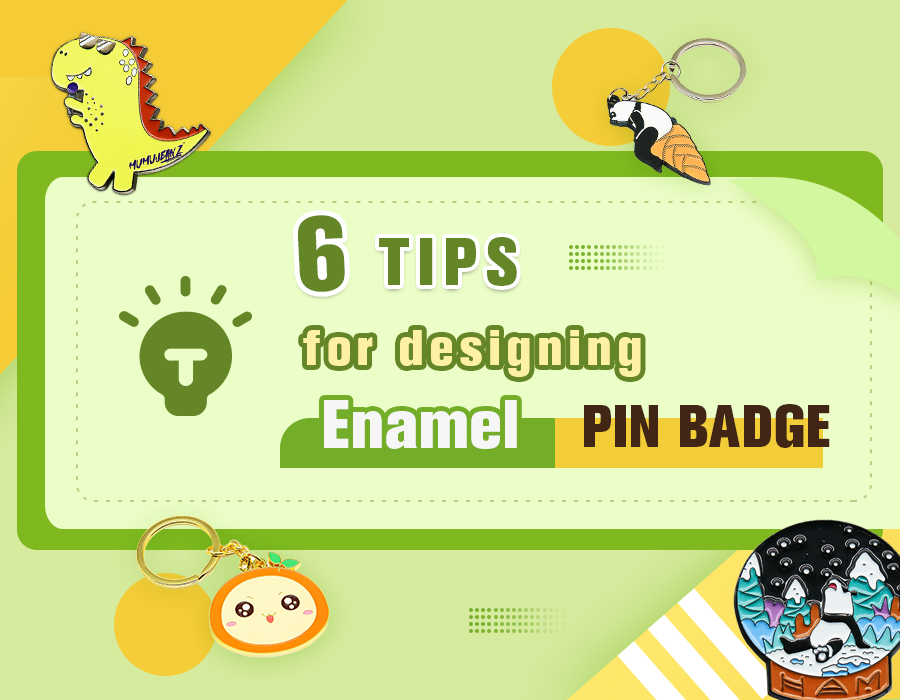 6 tips for design enamel lapel pin