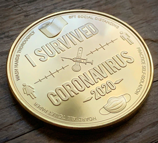 COVID-19 commemorative coins