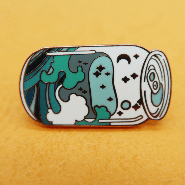 Hard Enamel Lapel Pin Badge -Unilapelpin22
