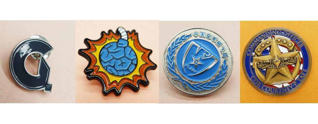 Soft Enamel Pin Badge