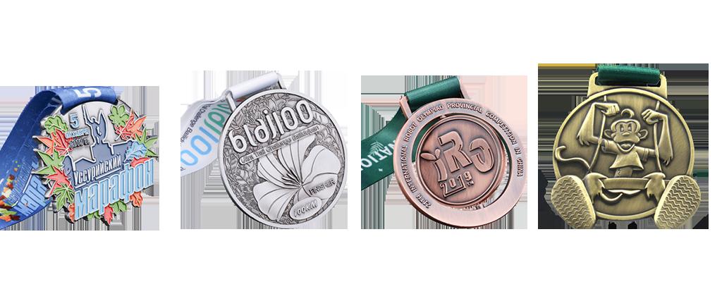 custom enamel medals