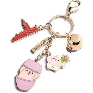 hard enamel keychain01