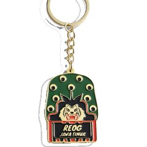 custom soft enamel keyring
