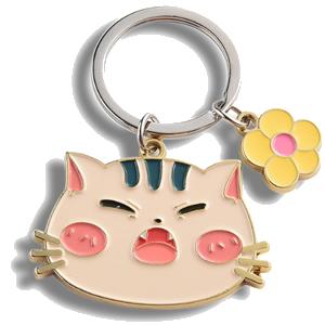 Custom Soft Enamel Keychain maker