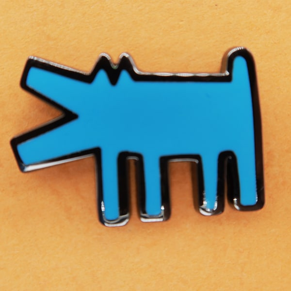 animal pin hard enamel
